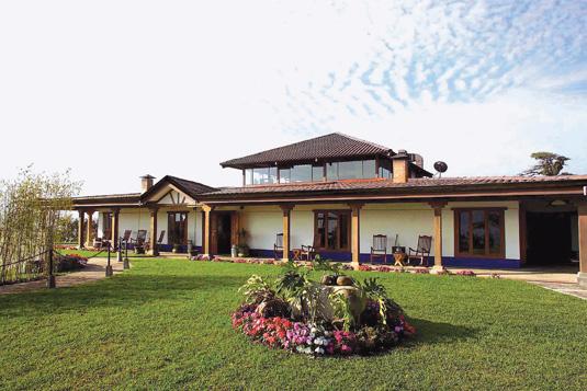 Villa Blanca Hotel and Spa Costa Rica in San Ramon