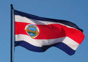 Flag - Costa Rica National Symbol