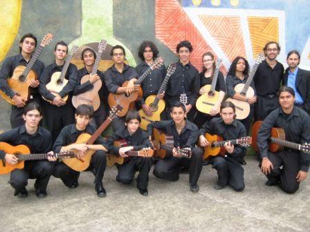 Orquesta de Guitarra del Teatro del Conservatorio Castella de Costa Rica