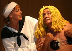 Obra en el Teatro Dominical Little Theatre en Dominical, Costa Rica
