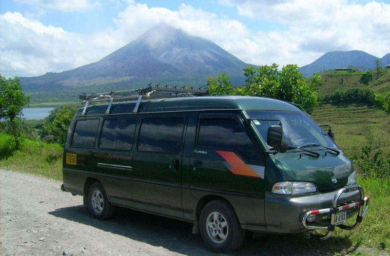 Busetas y Shuttles en Costa Rica