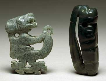 Piezas del Museo del Jade del INS, Costa Rica