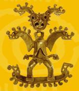 Pieza del Museo del Oro Precolombino de Costa Rica