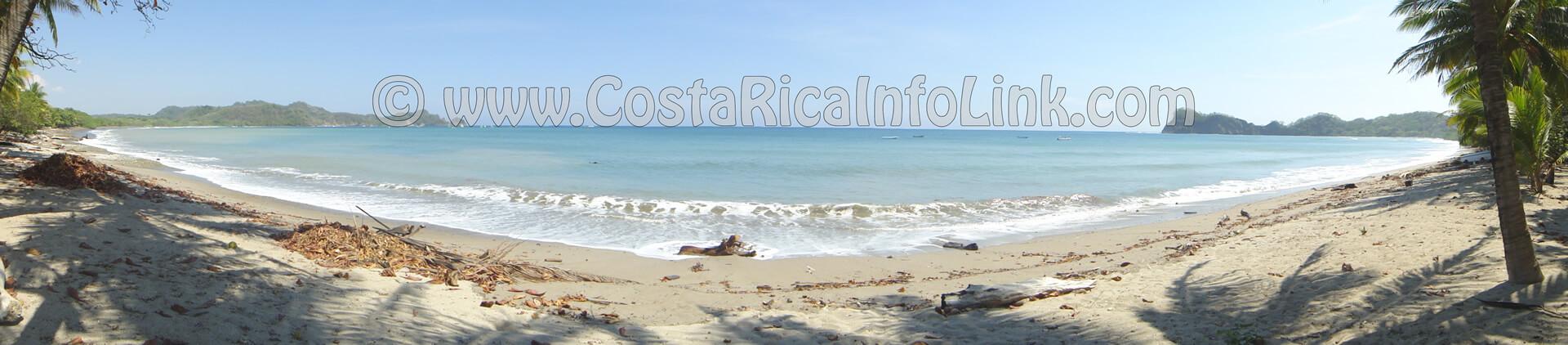 Playa Garza Costa Rica Panoramica