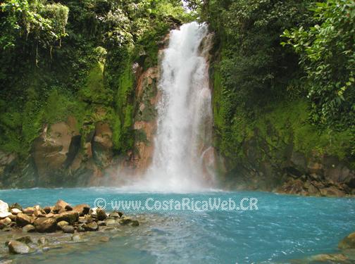 Catarata Rio Celeste Parque Nacional Volcán Tenorio
