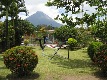 Jardines del Hotel San Bosco, La Fortuna, San Carlos, Alajuela, Costa Rica