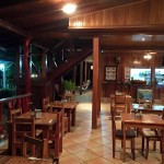 Restaurant - La Isla Inn Hotel, Cocles Beach, Limon, Costa Rica