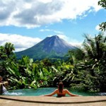 The Springs Resort and Spa Hotel Pool in Arenal, Costa Rica