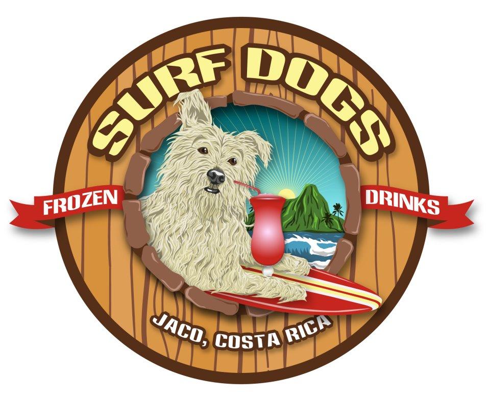 Bar y Restaurante Surf Dogs en Jacó, Costa Rica